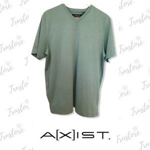 Axist Slim Fit Men's Shirt Green Size M